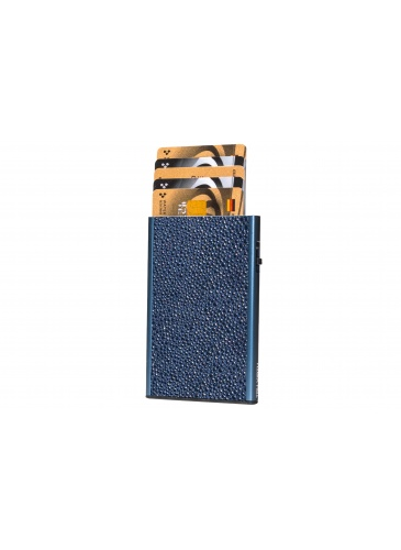 Держатель для карт TRU VIRTU  Card Case CLICK & SLIDE Sting Ray Blue/Titan