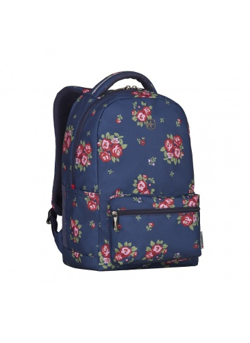 Рюкзак WENGER COLLEAGUE Navy Floral Print 16